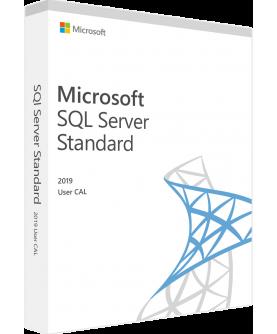Microsoft SQL Server 2019 Standard User CAL Deutsch/Multilingual