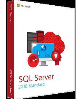 Microsoft SQL Server 2016 Standard inkl. 10 Clients (CALs) Deutsch/Multilingual ESD