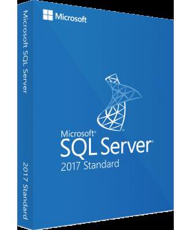 Microsoft SQL Server 2017 Standard inkl. 10 Clients (CALs) Deutsch/Multilingual ESD
