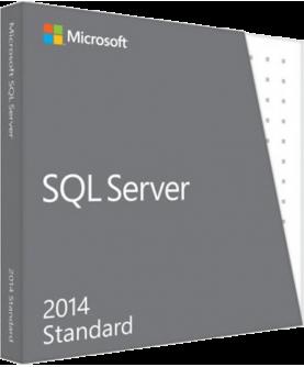 Microsoft SQL Server 2014 Standard inkl. 10 Clients (CALs) ESD