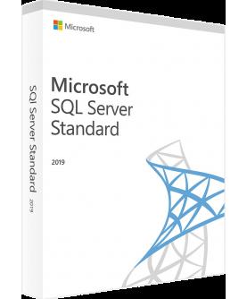 Microsoft SQL Server 2019 Standard inkl. 10 Clients (CALs) Deutsch/Multilingual ESD