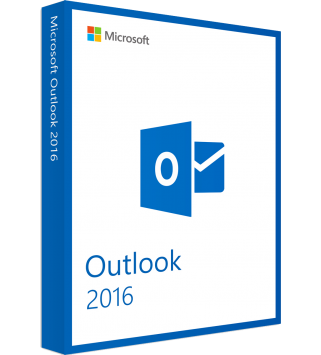 Microsoft Outlook 2016, Deutsch/Multilingual  (543-06314)
