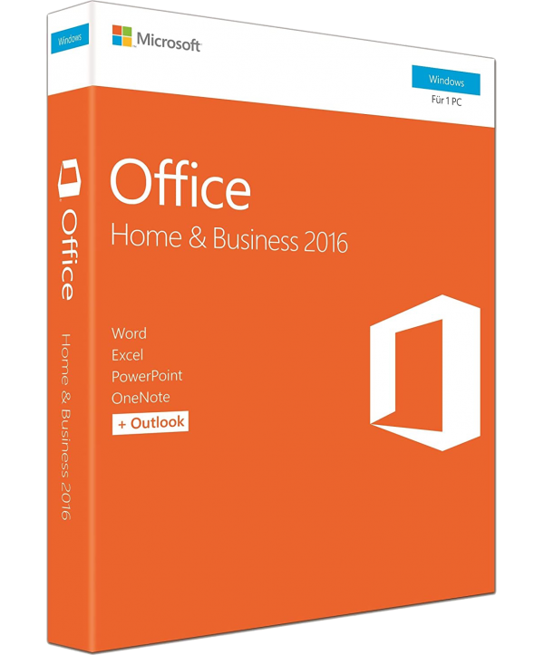 Microsoft Office 2016 Home and Business Deutsch/Multilingual (T5D-02316)