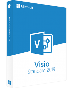 Microsoft Visio Standard 2019 Deutsch/Multilingual (D86-05822)