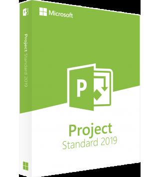 Microsoft Project Standard 2019 Deutsch/Multilingual (076-05785)