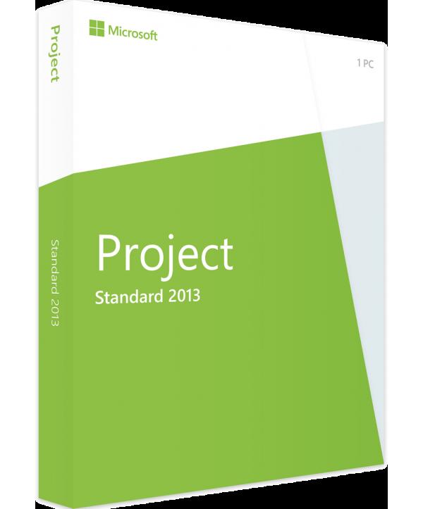 Microsoft Project 2013 Standard Deutsch/Multilingual  (AAA-02050)