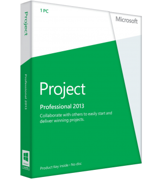 Microsoft Project 2013 Professional Deutsch/Multilingual  (AAA-01966)