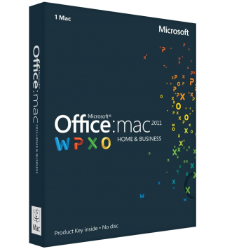 Microsoft Office 2011 Home and Business fuer Mac Deutsch/Multilingual