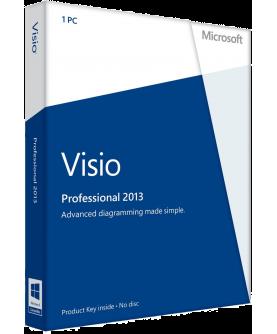 Microsoft Visio Professional 2013 Deutsch/Multilingual (AAA-02256)