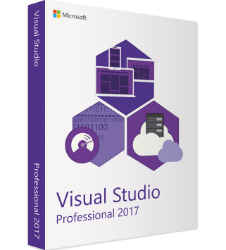 Microsoft Visual Studio 2017 Professional Deutsch/Multilingual ESD