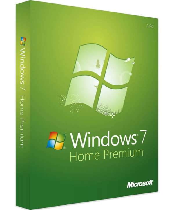 Microsoft Windows 7 Home Premium SP1 Deutsch/Multilingual (GFC-01633)