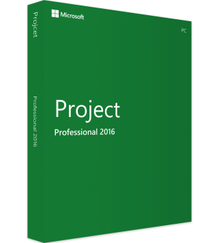 Microsoft Project Professional 2016 Deutsch/Multilingual (H30-05445)