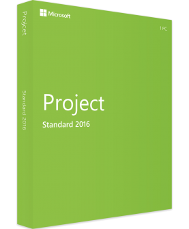Microsoft Project Standard 2016 Deutsch/Multilingual (Z9V-00342)