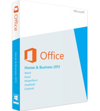 Microsoft Office 2013 Home and Business Deutsch/Multilingual (AAA-02652)