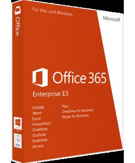Microsoft Office 365 Enterprise E3 1 User 1 Jahr (bis zu 15 Geräte) (Q5Y-00003)