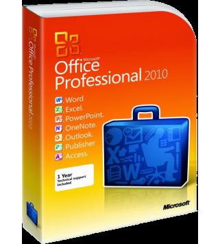Microsoft Office 2010 Professional Deutsch/Multilingual (269-15116)
