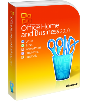 Microsoft Office 2010 Home and Business Deutsch/Multilingual (T5D-00559)