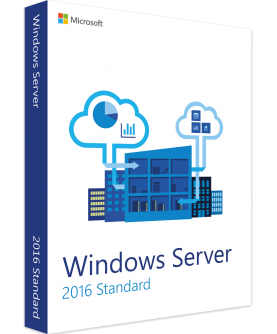 Microsoft Windows Server 2016 Standard (24 Cores) 64-Bit Deutsch/Multilingual ESD