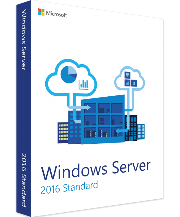 Microsoft Windows Server 2016 Standard (24 Cores) 64-Bit Deutsch/Multilingual ESD