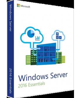 Microsoft Windows Server 2016 Essentials 64-Bit Deutsch/Multilingual