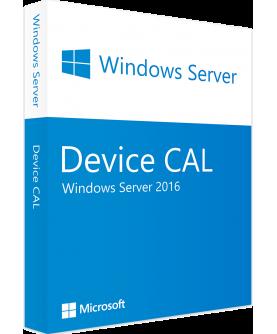 Microsoft Windows Server 2016 Standard/Datacenter Edition 10 Device CAL (OEM)