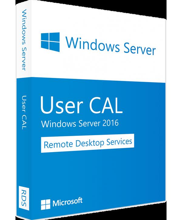 Microsoft Windows Remote Desktop Services 2016, 5 User CAL (PC) (6VC-03055)