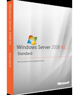 Microsoft Windows Server 2008 R2 Standard inkl. Service Pack 1 64-Bit Deutsch/Multilingual ESD