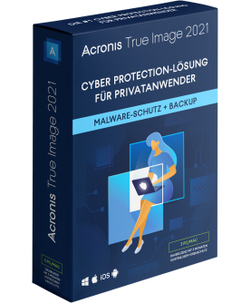 Acronis True Image 2021 3 PCs/Macs Dauerlizenz