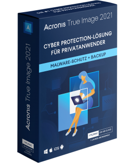 Acronis True Image 2021 Advanced 1 Jahr 1 PC/Mac + 500 GB Acronis Cloud Storage