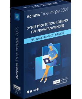 Acronis True Image 2021 Advanced 1 Jahr 1 PC/Mac + 500 GB Acronis Cloud Storage