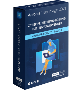 Acronis True Image 2021 Premium 1 Jahr 1 PC/Mac + 1 TB Acronis Cloud Storage