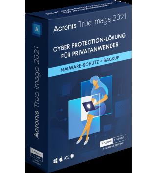Acronis True Image 2021 Premium 1 Jahr 5 PCs/Macs + 1 TB Acronis Cloud Storage