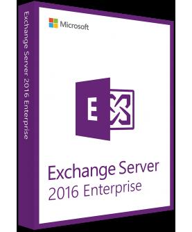 Microsoft Exchange Server 2016 Enterprise Deutsch/Multilingual