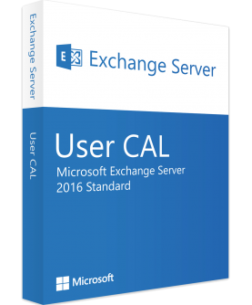 Microsoft Exchange Server 2016 Standard 1 User CAL Deutsch/Multilingual