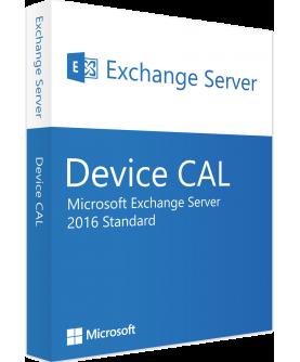 Microsoft Exchange Server 2016 Standard 1 Device CAL Deutsch/Multilingual