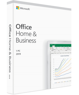 Microsoft Office 2019 Home and Business für Windows Deutsch/Multilingual (T5D-03183)