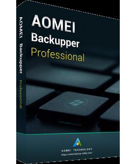 AOMEI Backupper Professional 5.8 1 Jahr 2 User
