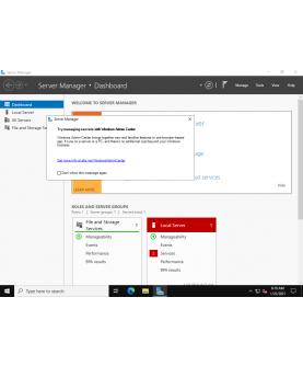 Microsoft Windows Server Standard 2022 64-Bit - 16 Cores Deutsch/Multilingual (P73-08330)