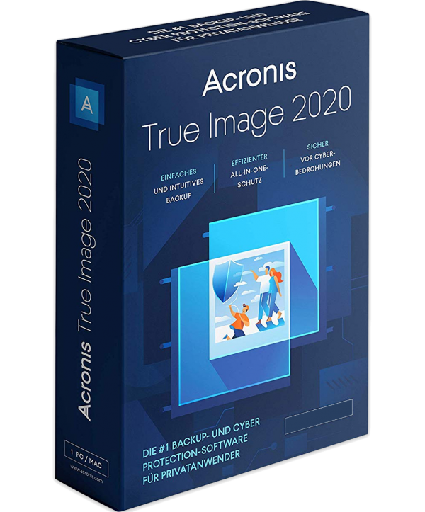 Acronis True Image 2020 3 User (PC/Mac)