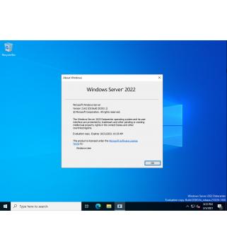 Microsoft Windows Server Datacenter 2022 64-Bit - 16 Cores Deutsch/Multilingual (P71-09391)
