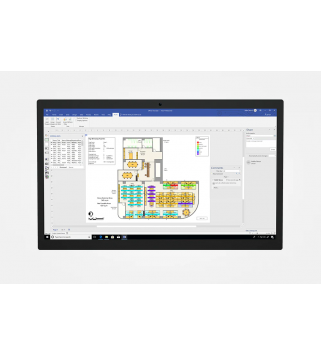 Microsoft Visio Pro 2021 für Windows Deutsch/Multilingual (D87-07606)