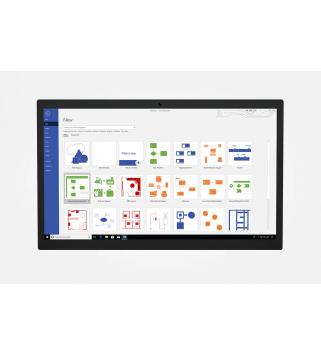 Microsoft Visio Standard 2021 für Windows Deutsch/Multilingual (D86-05942)