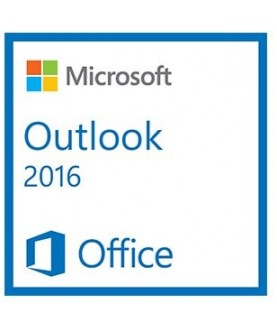 Microsoft Outlook 2016, Deutsch/Multilingual (543-06314)