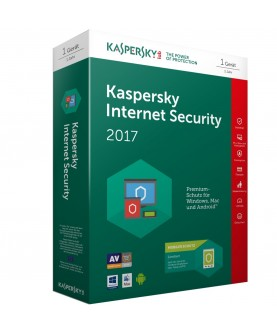 Kaspersky Internet Security 2017 1 Jahr 1 Gerät (Official website-Code, Download)