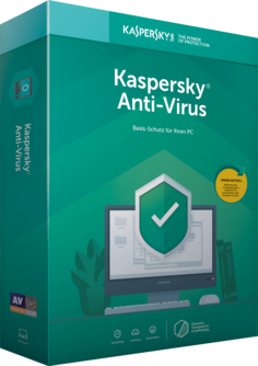 Kaspersky Anti-Virus 2019 1 Jahr 1 Gerät (Download)